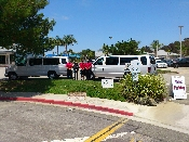 shuttle and valet service in Laguna Niguel California for St. Timothy Catholic Church