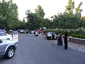 Valet parking and shuttle service provided for a fundraiser Sacramento California.